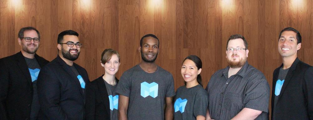 The MakerSquare Team:  Jeff Wolinsky  ,   Savrut Pandya  ,   Rachel Jenkins  ,   Will Sparks  ,   Monica Martinez  ,   Kyle Simpson  , and   Jerod Rubalcava