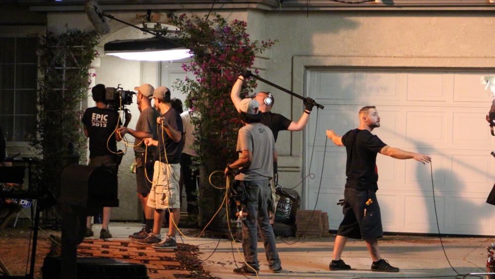2015.08.29 DAY 22 Mark Bessenger House, Night Shoot 5