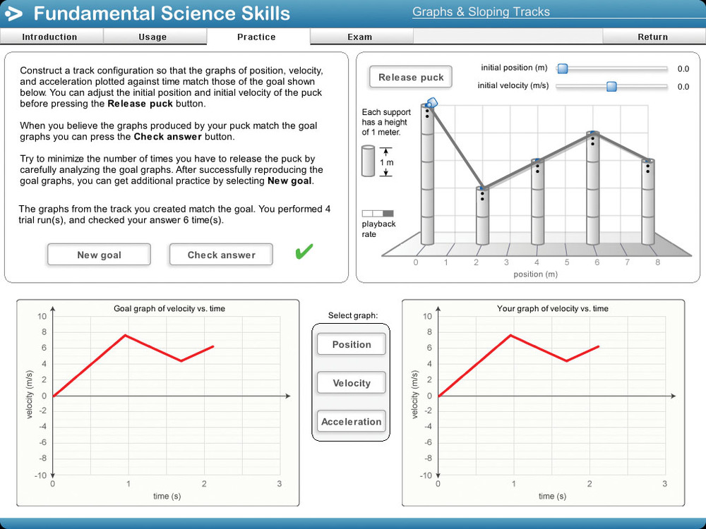 Fundamental Science Skills software