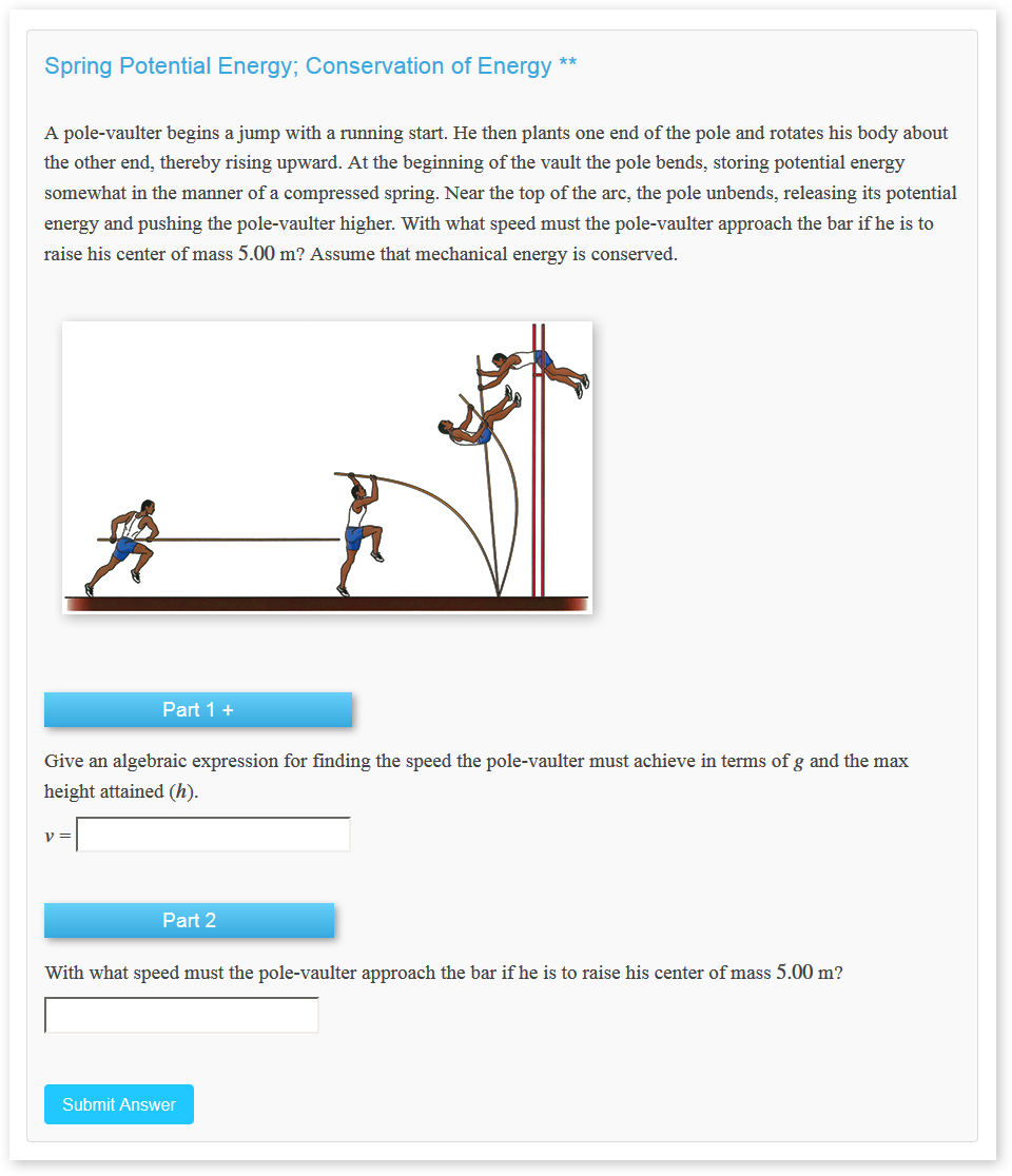 Physics LE Problem