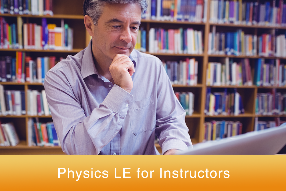 Physics Le online homework for Instructors