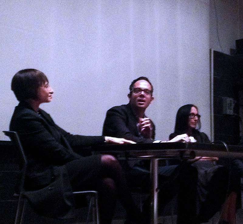 Panel discussion at UC Berkeley, October 2014
