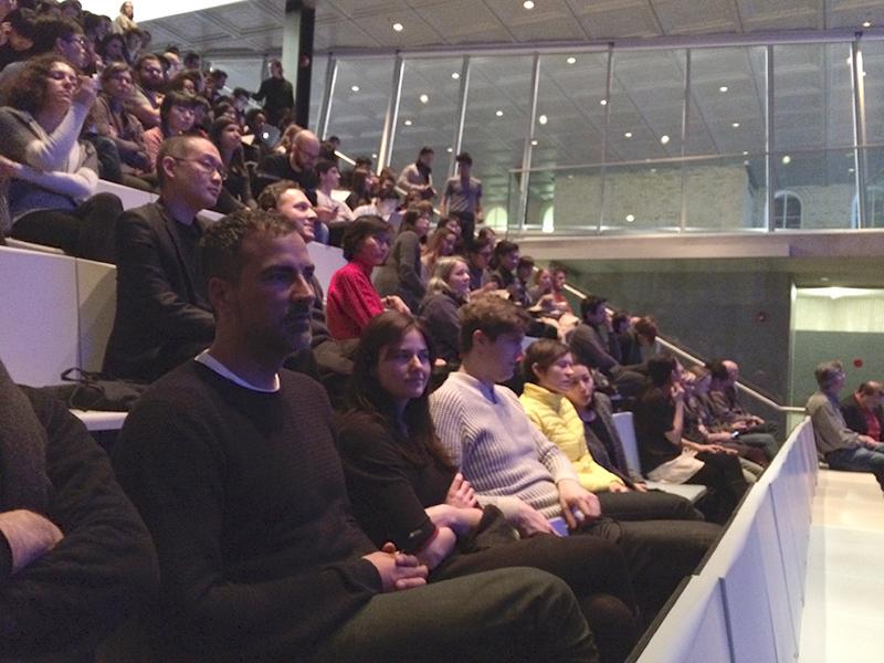 Public screening at Cornell University, February 2015