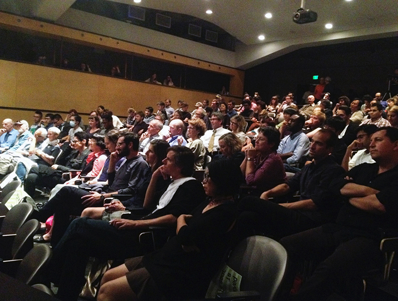 Public screening at UC Berkeley, October 2014