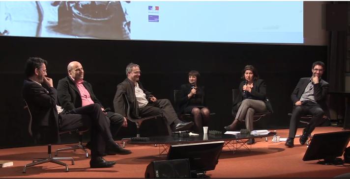 Panel discussion at Cite de l'Architecture, Paris, France, April 2015