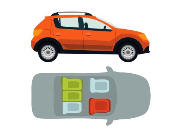 Mejores asientos en un automóvil