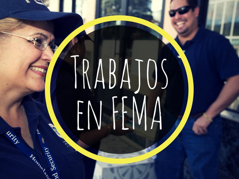 Trabajos en FEMA