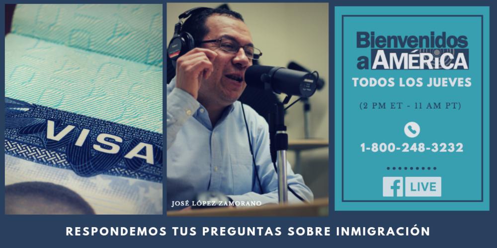 Bienvenidos a América  es mucho más que un saludo de bienvenida, es el programa de inmigración semanal que se graba y transmite en vivo en más de 80 estaciones de radio en los Estados Unidos
