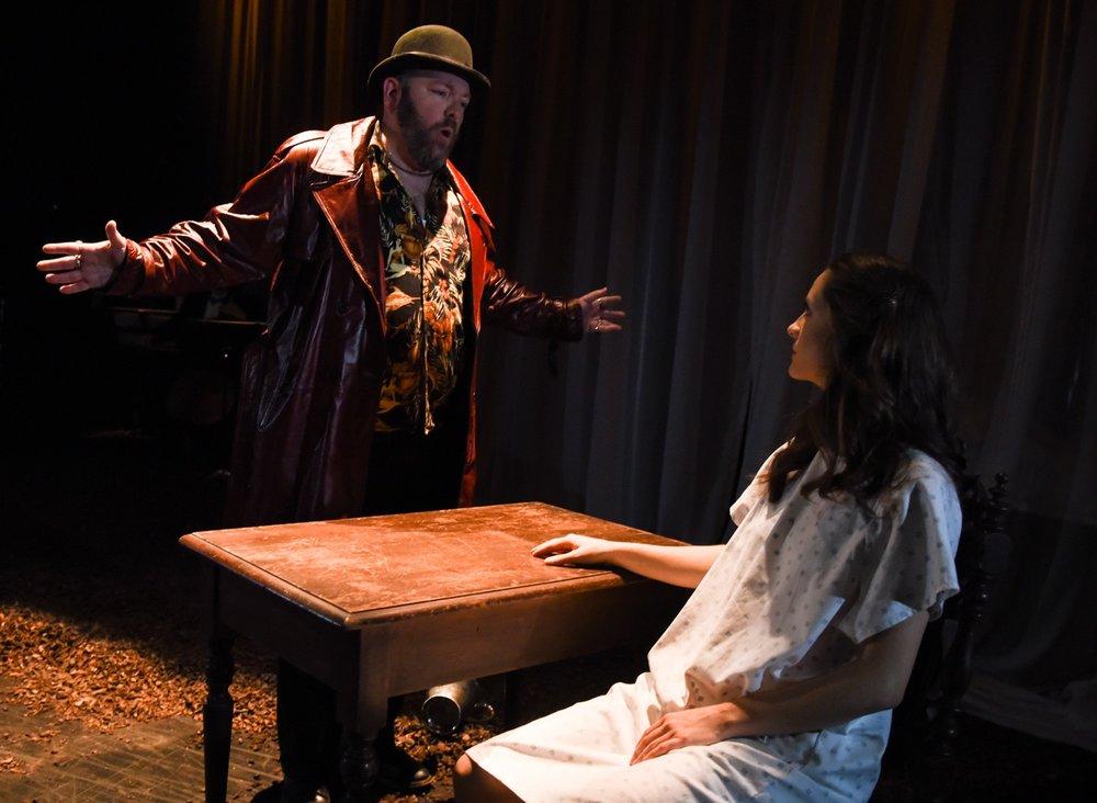 Act 2, Sc 1: Enrico pressures Lucia to marry Arturo