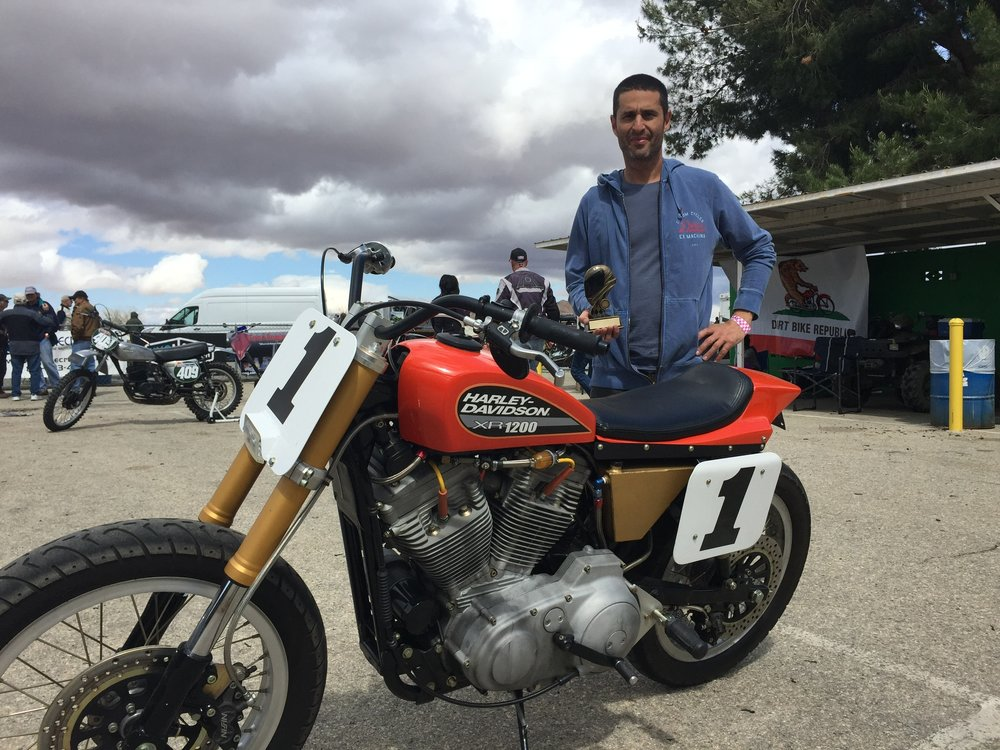 Winner - Best American Custom - Motoclassica Motorcycle Show, Willow Springs April 2015