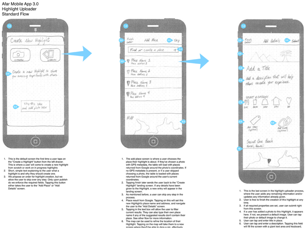 Creating lo fi wireframes