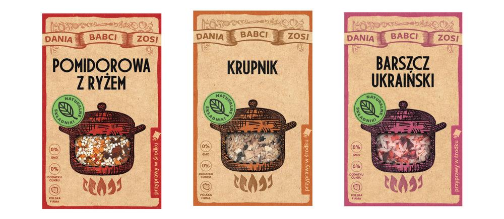 Tomato Soup, Barley Soup, Ukrainian Borsch