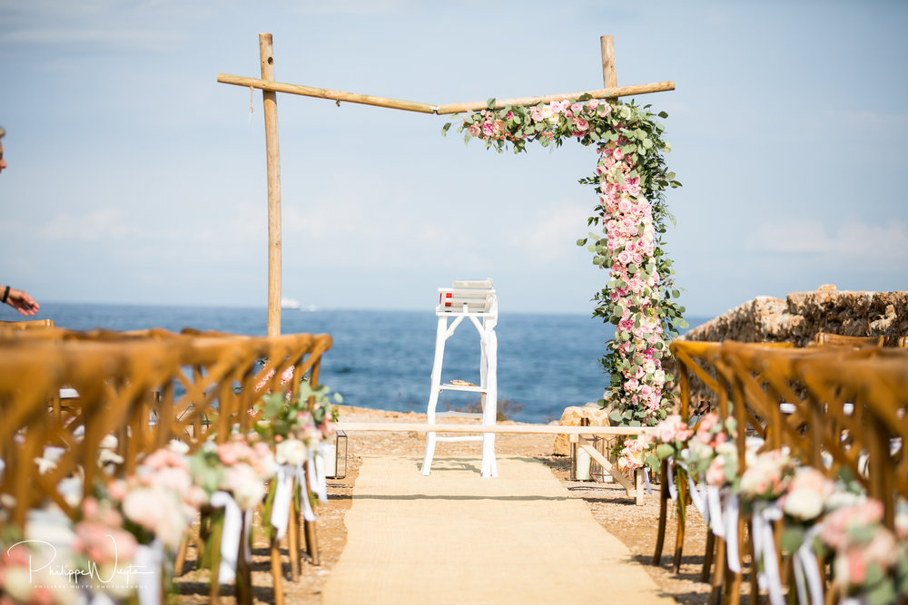Wedding La Escollera Ibiza Playa Es Cavallet