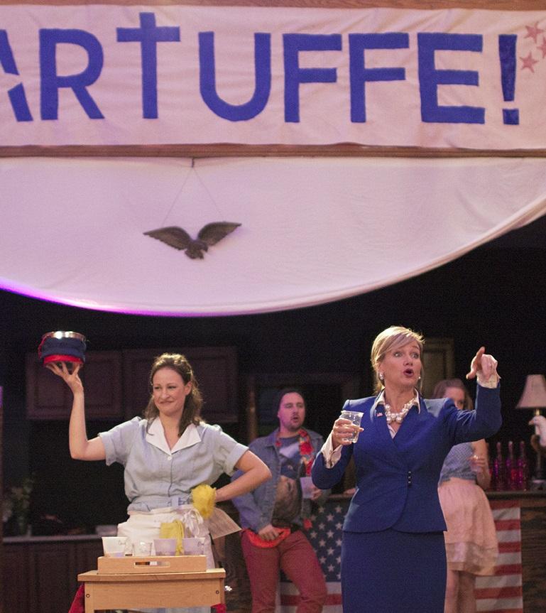 Leah Gabriel and Carol Linnea Johnson in TARTUFFE!