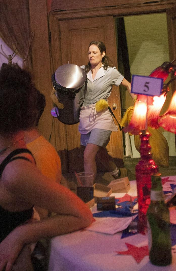 Leah Gabriel as Doreen in TARTUFFE!