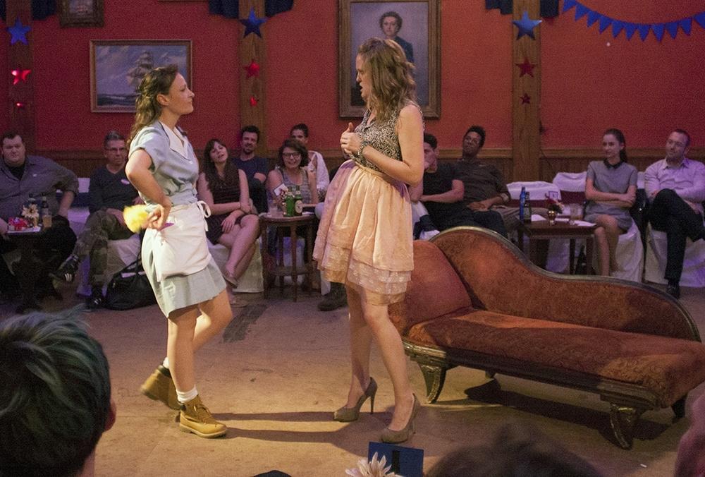 Leah Gabriel and Abbey Siegworth in TARTUFFE!