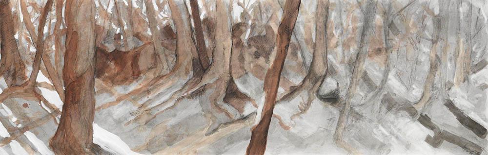 Horizontal Woods, Study #34