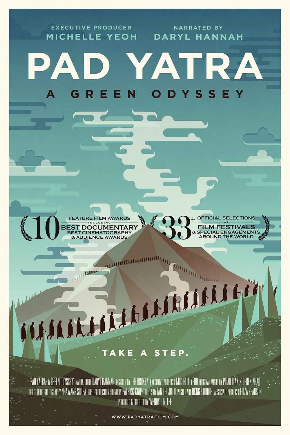 "Official Poster for ""PAD YATRA: A Green Odyssey"""