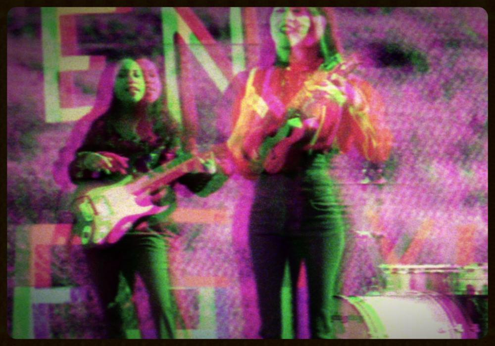 "Artist Pilar Díaz from ""Ilegal En Estyle"" Music Video"