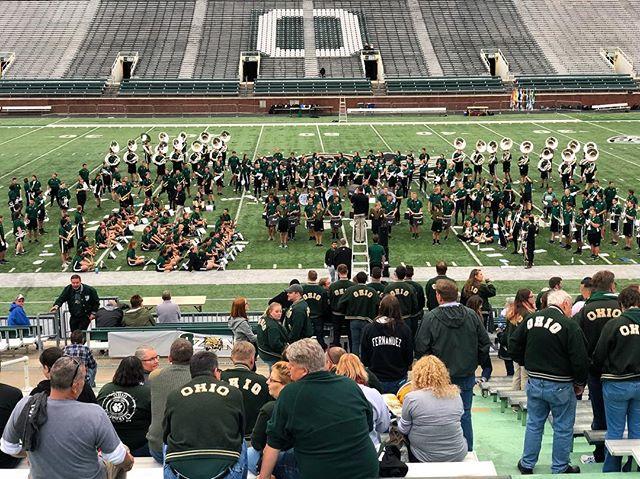 Tis the season. . . . #Marching110 #OUohYeah #Bobcats #AthensOhio #Athens #Ohio #OhioU #OhioUniversity #45701  #IgersOhio #110 #CollegeMarching #HIO #GetThere #MostExctingBandInTheLand #Band #MarchingBand #Capture_Ohio #Music #OnlyInOhio #JJ_Ohio #One_Ohio #NickBolin Photo By: @Nick.Bolin ©Nick Bolin www.NickBolin.com