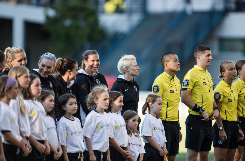 Portage Bay Cafe  is proud to support the Seattle  Reign 's youth soccer program!   Tickets are still available here:  https://www.reignfc.com/tickets/