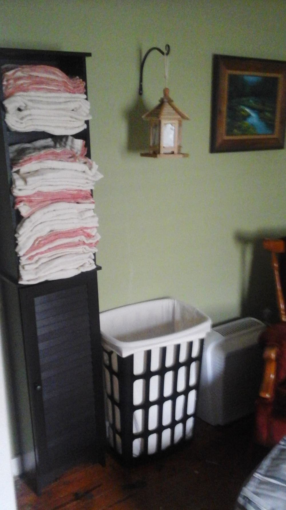 Lori's prefold setup