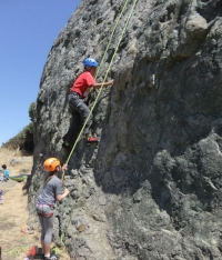 Owen JONES is a 7th grader at Marin Montessori school.  Owen is known for achieving tough climbs.