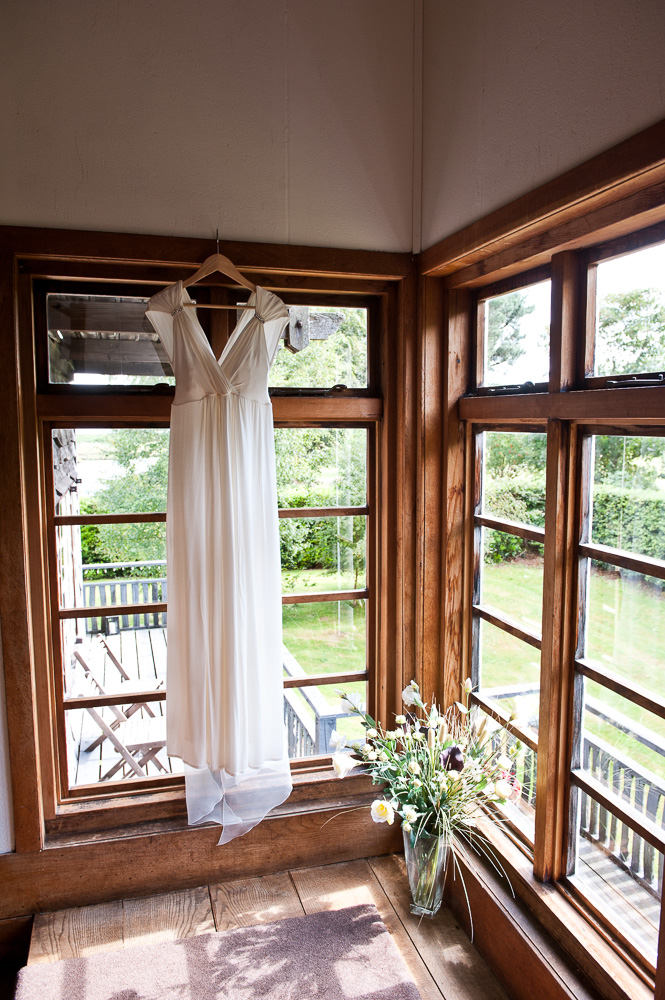 Big Wooden House Arran Wedding Dress