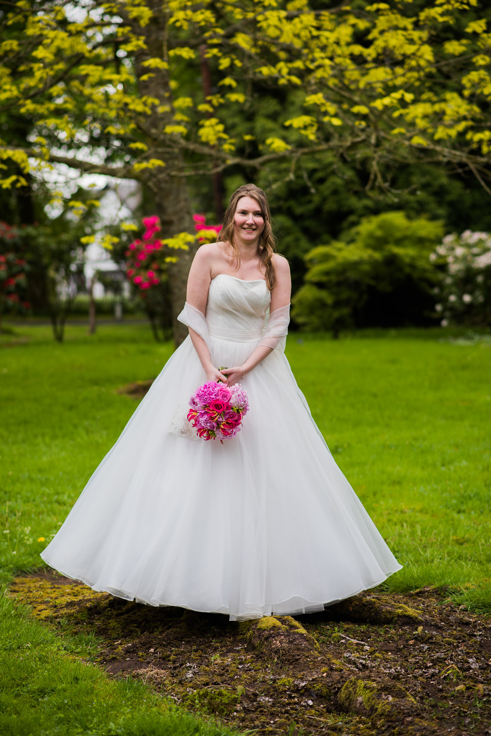 Bride at Killearn Wedding