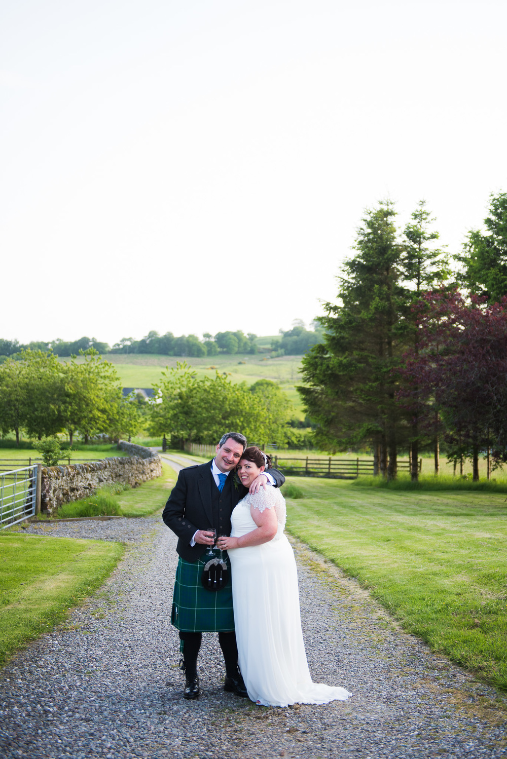 Ardoch Wedding Couple