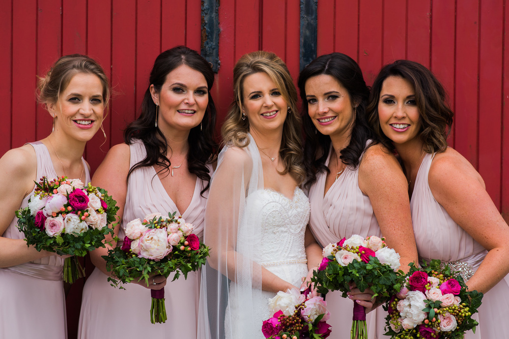 Kinkell Byre Bridesmaids Bride