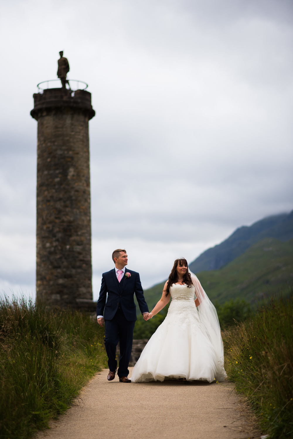 Glenfinnan Monument Wedding Scotland