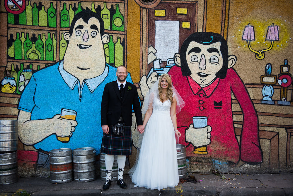 Glasgow Pub Wedding