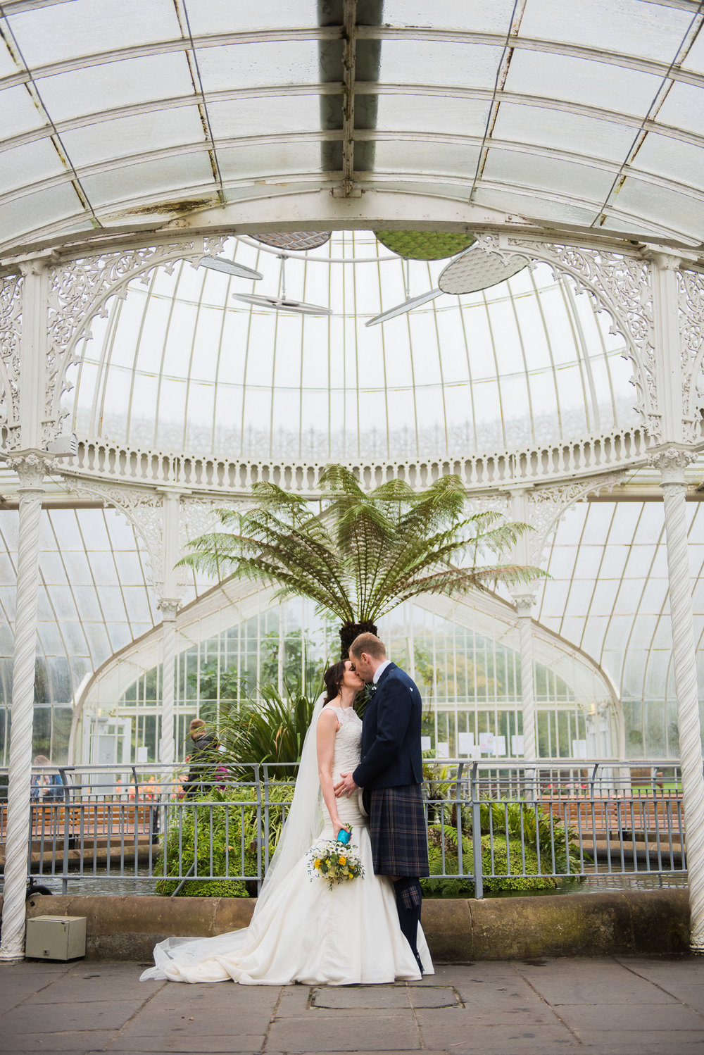 Glasgow Botanic Gardens Wedding