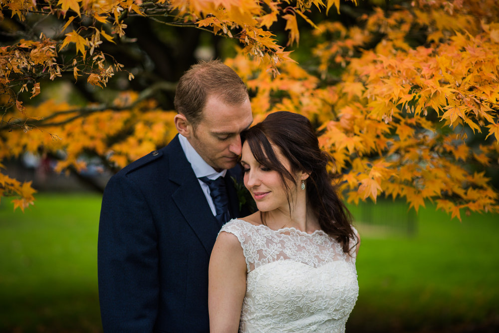 Glasgow Wedding at Botanic Gardens