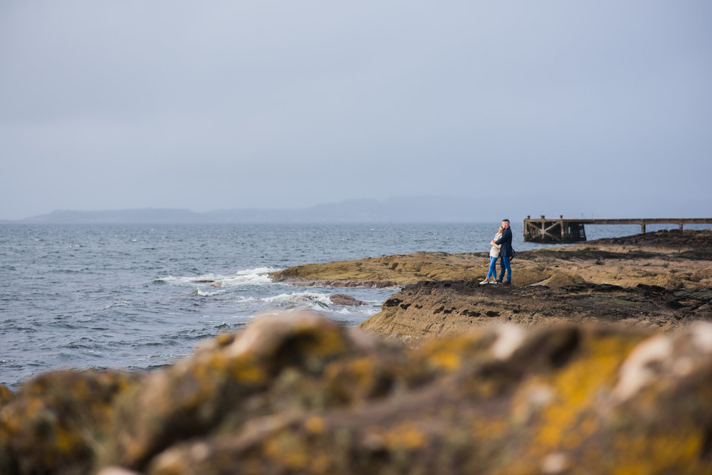 Portencross Castle Engagement Session