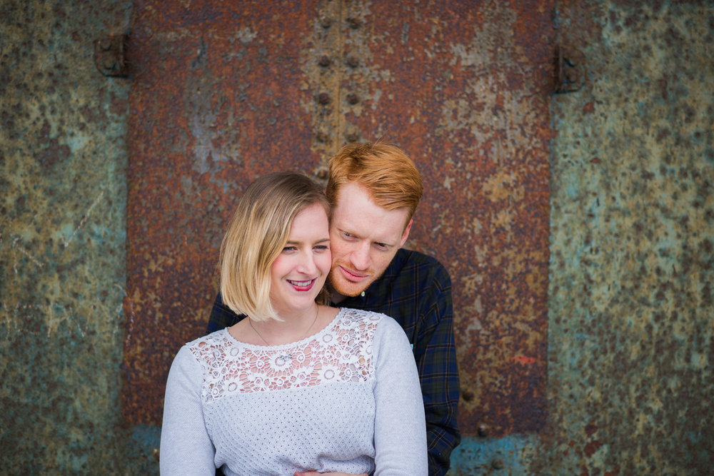 Greenock Engagement Session at Sugar Sheds