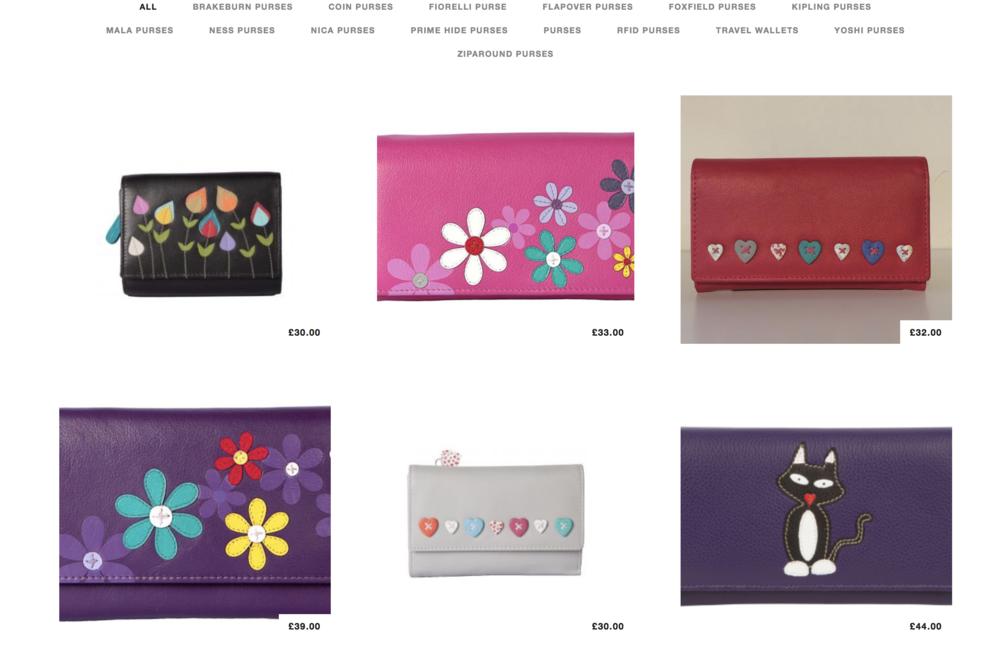 Adore Accessories Boutique Gourock Website Example