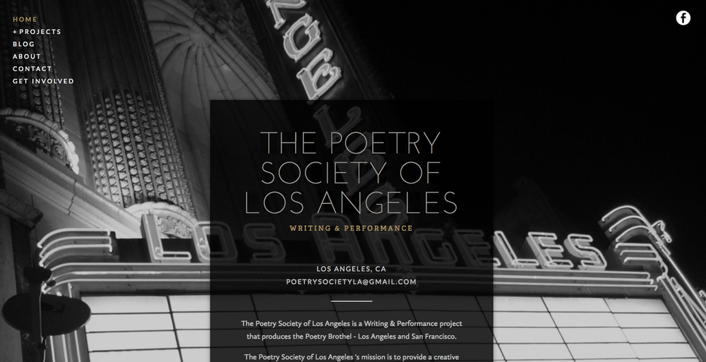 The Poetry Society of Los Angeles .  See more.