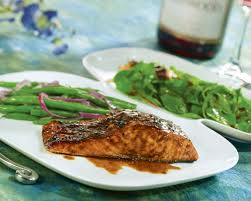 Balsamic Caramelized Salmon