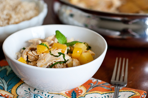 Tropical Fruit and Nut Curry