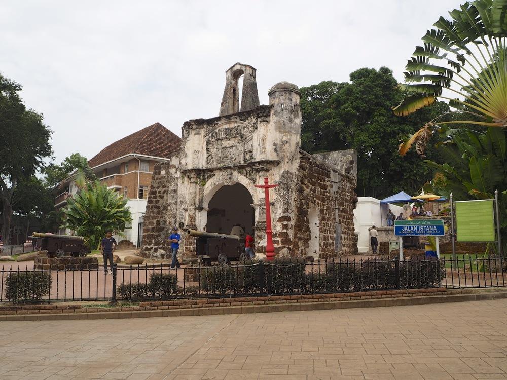 Parte de la antigua fortaleza