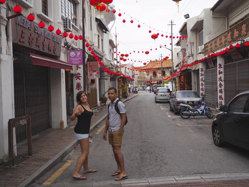 Paseando por Chinatown