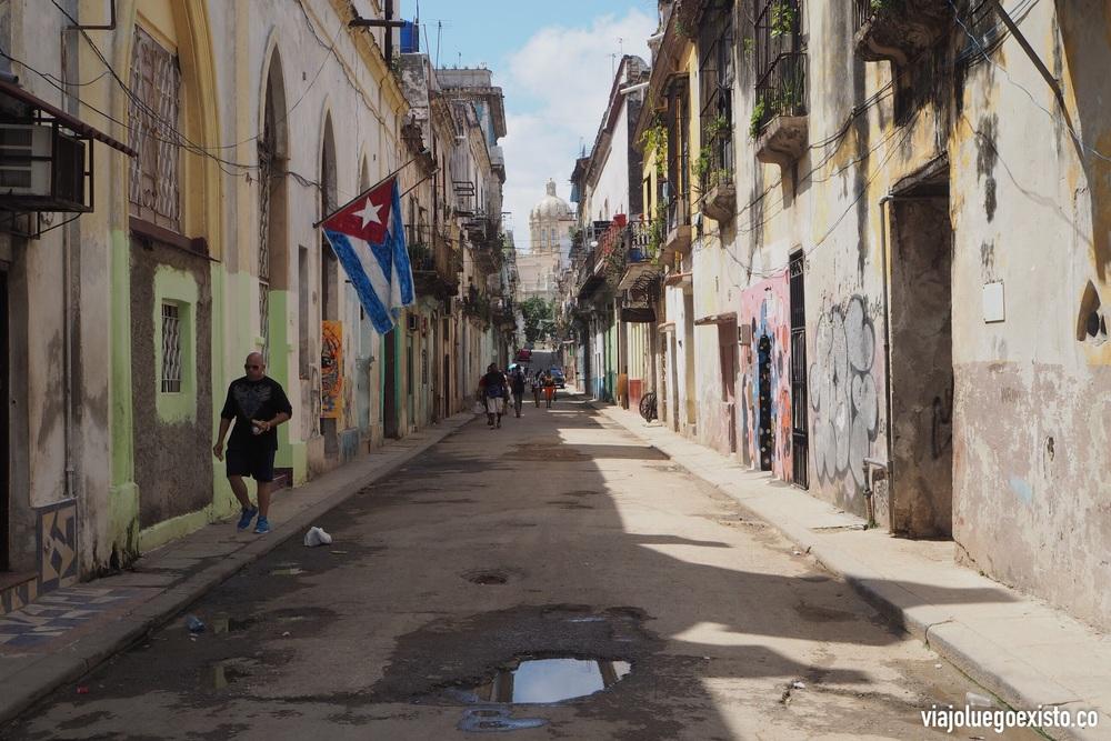 Calle de La Habana Vieja.