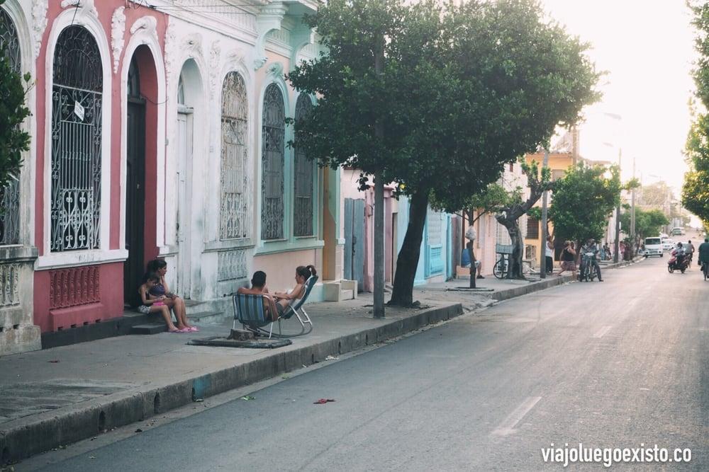 Fuera del centro es donde se ve realmente el día a día de los cubanos.