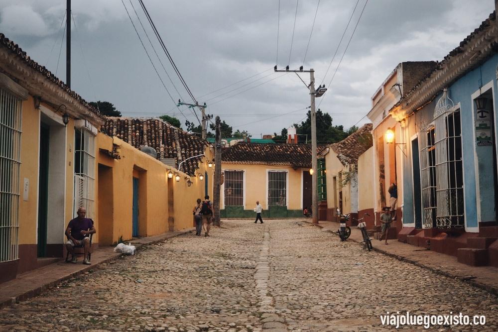 Calles empedradas de Trinidad.