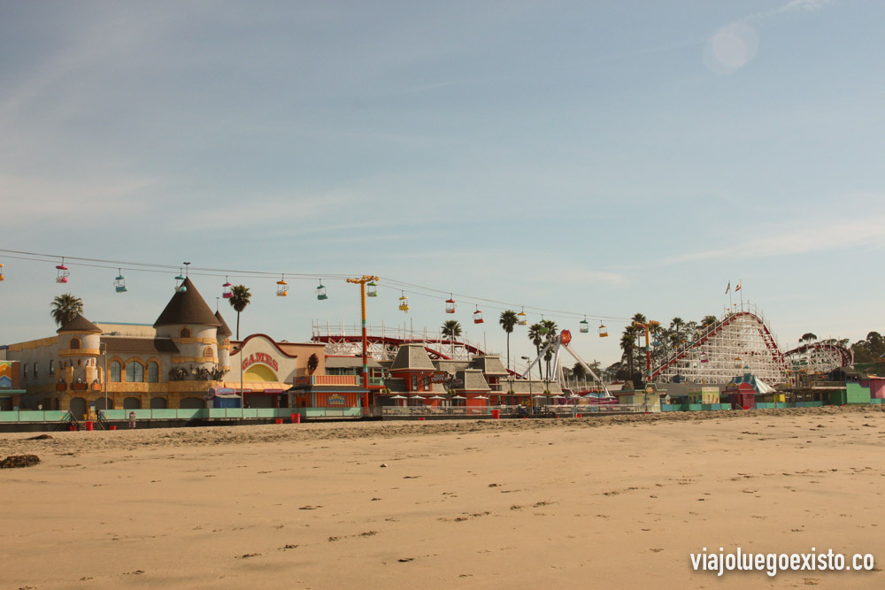 Parque de atracciones Santa Cruz Beach Boardwalk
