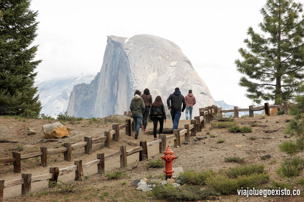 Mirador de Glacier Point