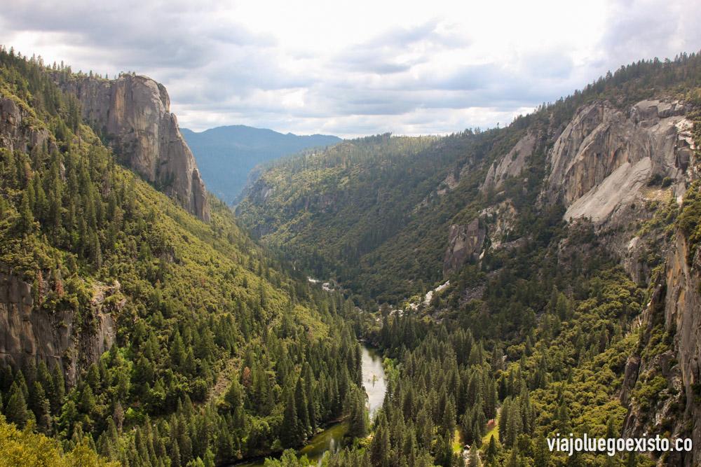 Vistas desde el mirador de Tunnel View