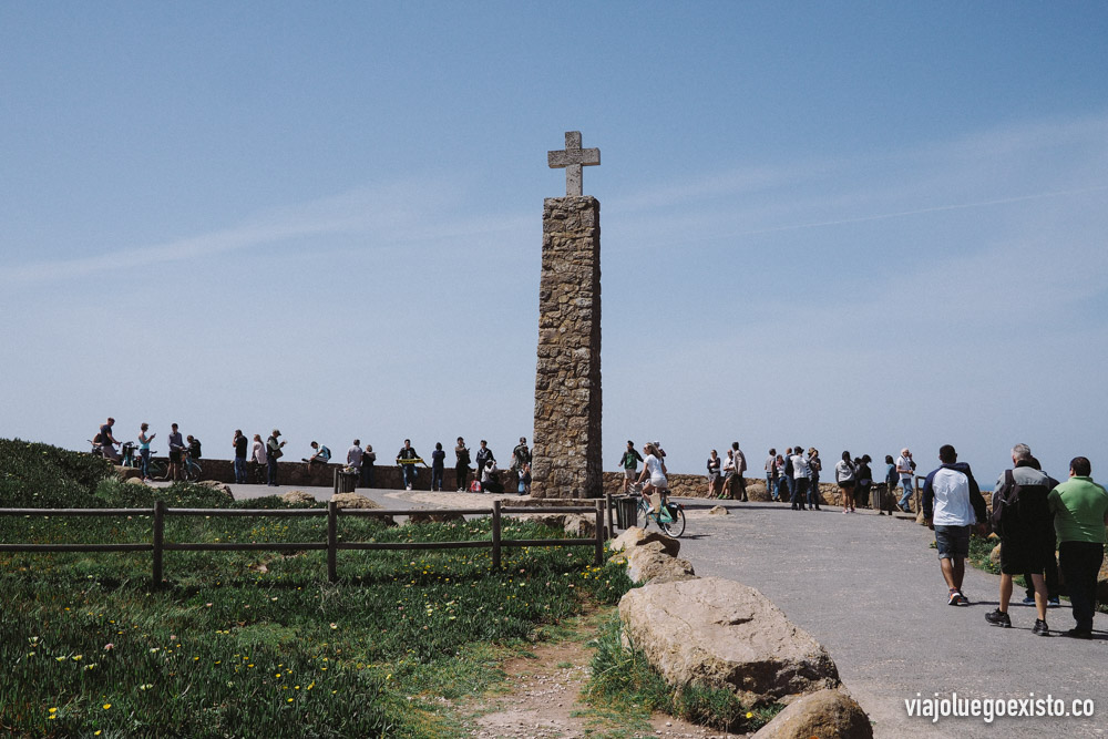 Cabo da Roca, el punto más al oeste de Europa.